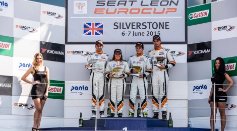 First SEAT Eurocup podium for Morgan