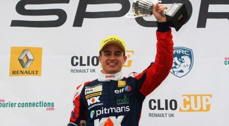 Double Podium for Morgan in UK Clio Cup Season Finale